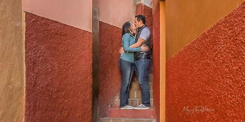 Historia de El Callejón del Beso en Guanajuato