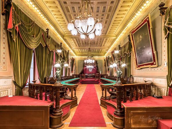 Sala de sesiones del Congreso del Estado de Guanajuto