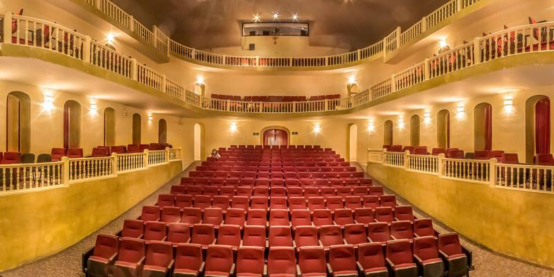 Teatro Angela Peralta en San Miguel de Allende