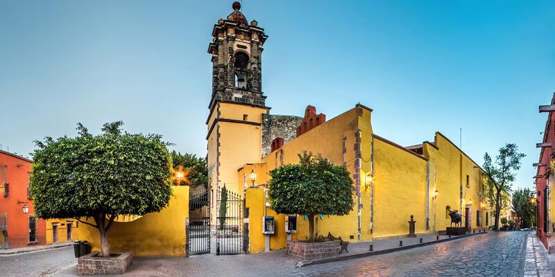 Templo de la Purísima Concepción (Las Monjas) en San Miguel de Allende, Guanajuato